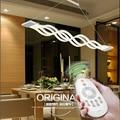L100CM 120cm New Creative modern LED pendant lights Wave hanging lamp dining room living room pendant light 110V 220V