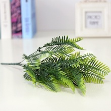 Искусственный фернворт персидское искусственное растение с листьями поддельное растение пластиковый лист фолиум цикас растение для украшения стен