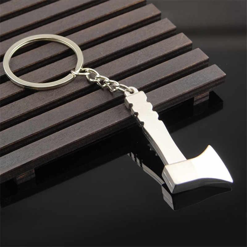 Herramientas de moda de tafree llaveros llave, martillo, sierra, hacha, llave, electrotaladro, colgantes de aleación de tijeras con cadenas llaveros útiles