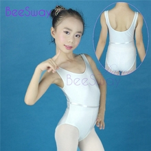 bcdeab930 Buy white sleeveless leotard and get free shipping on AliExpress.com