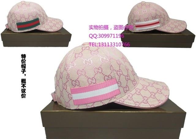 e4d941617a5e3 2013gucci pink hat female summer baseball cap sun hat sports cap outdoor
