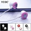 + Barato + rosa branco preto estrela vermelha 3.5mm de ouvido intra-auriculares fone de ouvido estéreo fone de ouvido para xiaomi htc samsung iphone pc mp3 mp4