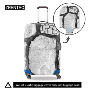 white luggage cover 28inch