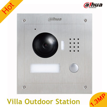 Dahua Stainless steel pane 1.3MP Villa Outdoor Station English without Logo VTO2000A vandal proof Support mobile phone software