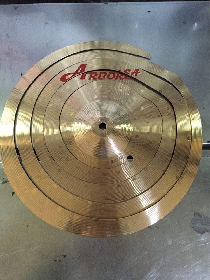 Nouveau Design ARBOREA Spirale CymbaleNouveau Design ARBOREA Spirale Cymbale