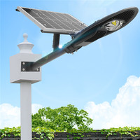 Smuxi 20/30W Solar Street Light LED Solar Radar Sensor Road Lamp With Waterproof Lamp Arm AC110 220V LED Industrial Light