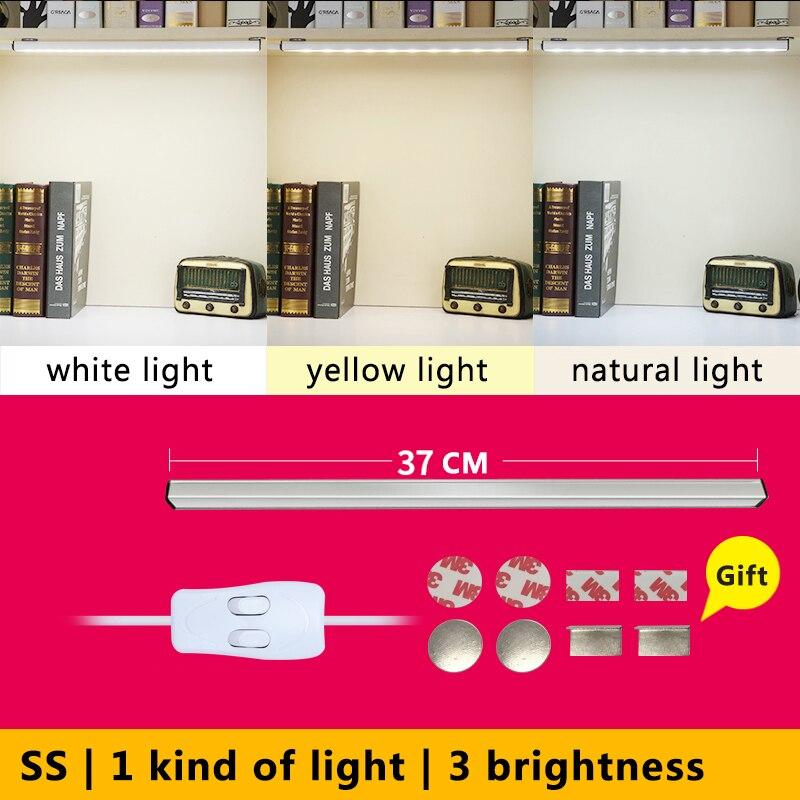 Магнит USB led Настольный Lampl Алюминий Shell 3 свет Цвет бесплатная доставка защиты глаз настольная лампа Высокое качество Компактный SS