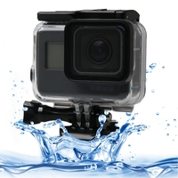 PULUZ For Gopro Hero 6 Housing Waterproof Touch Screen 60m Diving Protective Case With Buckle Mount