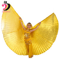 Factory Price Full Stock Egypt Costume Belly Dance Wings Dance Wear Wing Best Selling In 7