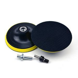 Image 5 - POLIWELL 3 4 5 Inch M10 Thread Self adhesion Sanding Pads Hook & Loop Sandpaper Sucker Pad Auto Car Grinding Abrasive Tool Parts