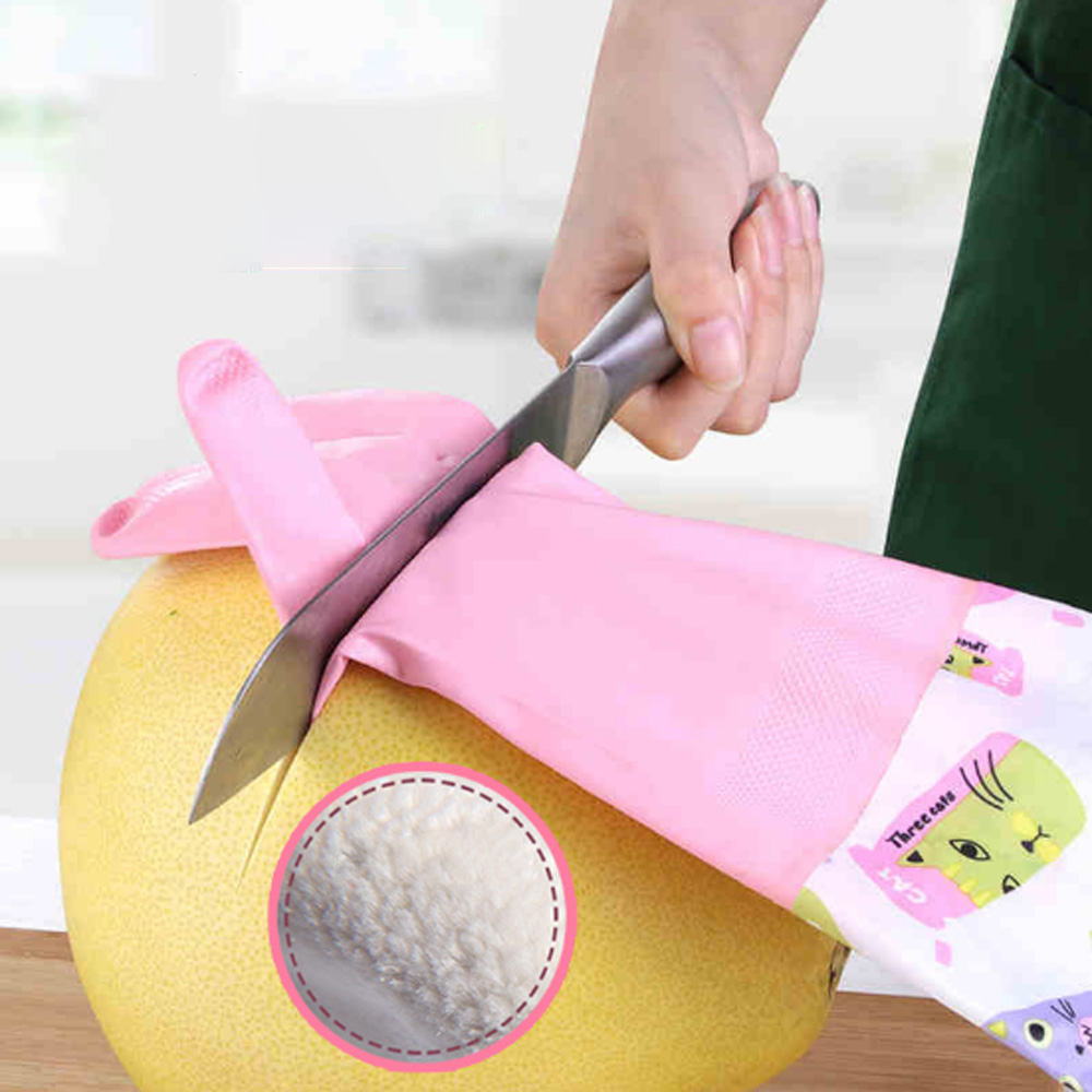 все цены на HYBON Cut Resistant Gloves Self Defense Cutter Anti-cut Safety Dishwashing Gloves Clothes Cleaning Waterproof Kitchen Gloves