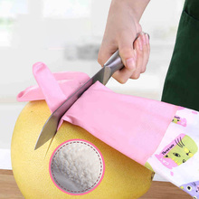 HYBON Cut Resistant Gloves Self Defense Cutter Anti-cut Safety Dishwashing Gloves Clothes Cleaning Waterproof Kitchen Gloves