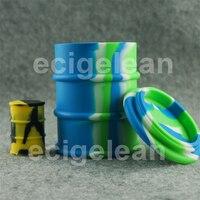 DHL 5 cái * 500 ml Thùng Dầu BHO silicone jar dab sáp Tập Trung container non stick goo miễn phí glass bongs gel sáp dầu lớn container