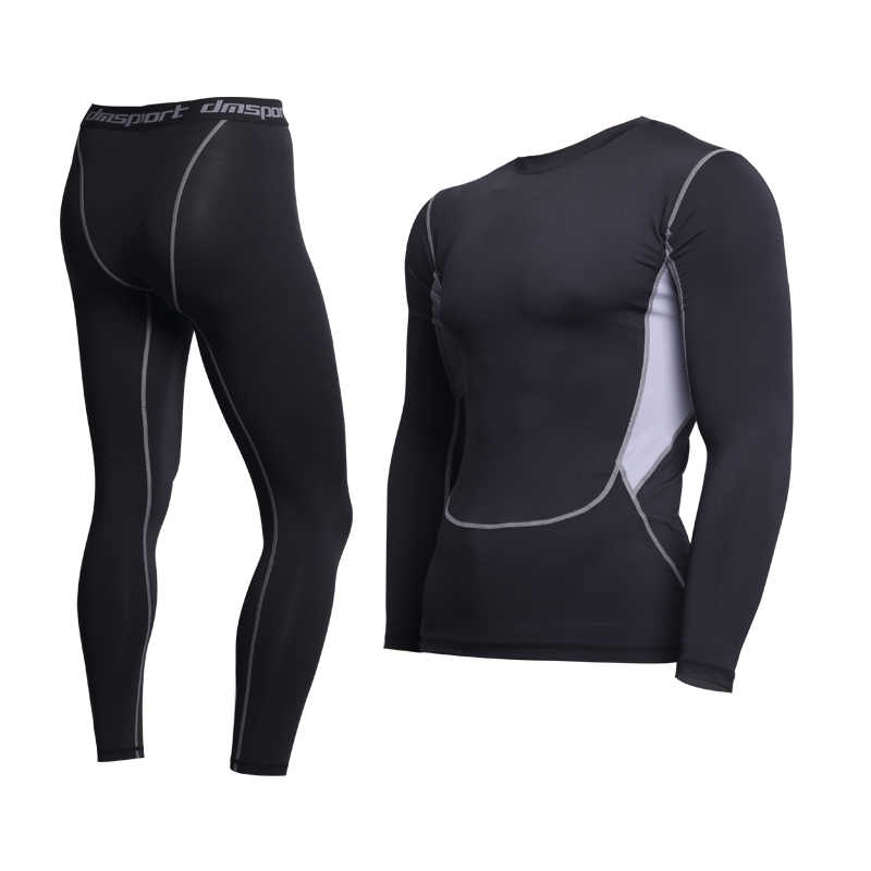 Thermal Underwear For Men Male Thermo Clothes Long Johns Thermal Tights Winter Long Compression Underwear Quick Dry Dropshipping