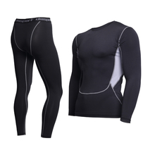 Thermal Underwear For Men Male Thermo Clothes Long Johns Thermal Tights Winter Long Compression Underwear Quick Dry cheap Polyester Spandex DANXRUHA thermo underwear