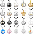 1PC Pendant Necklace Pregnancy Chime Ball Harmony Bola Pendant Necklace Wishing Ball Pregnant Women Gift Baby Angel Caller
