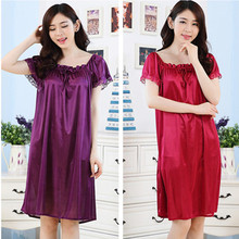 Summer Women Nightdress Plus Size Nightgowns Female Casual Home Clothes Ladies Night Dress Nightshirts Pijamas