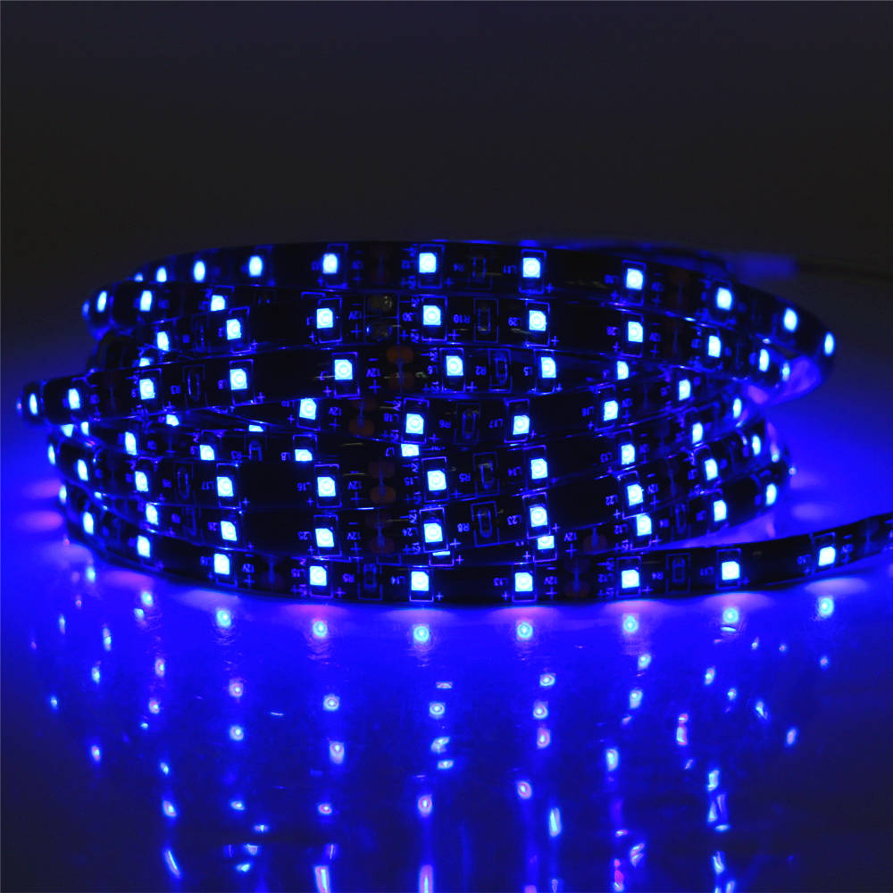 0.5 - 5M SMD 3528 60LEDS/M DC 12V Waterproof Black PCB LED Strip light white / warm white / red / green / blue / yellow / RGB 3528 smd 120 led m led strip 5m 600 led 12v flexible light no waterproof white warm white blue green red yellow