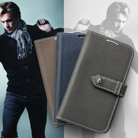 2016 QIALINO New Style Cell Phone case Cover for Samsung Galaxy Note 3 III N9000 N9005 Wallet Case,Best Leather PC Back Cover