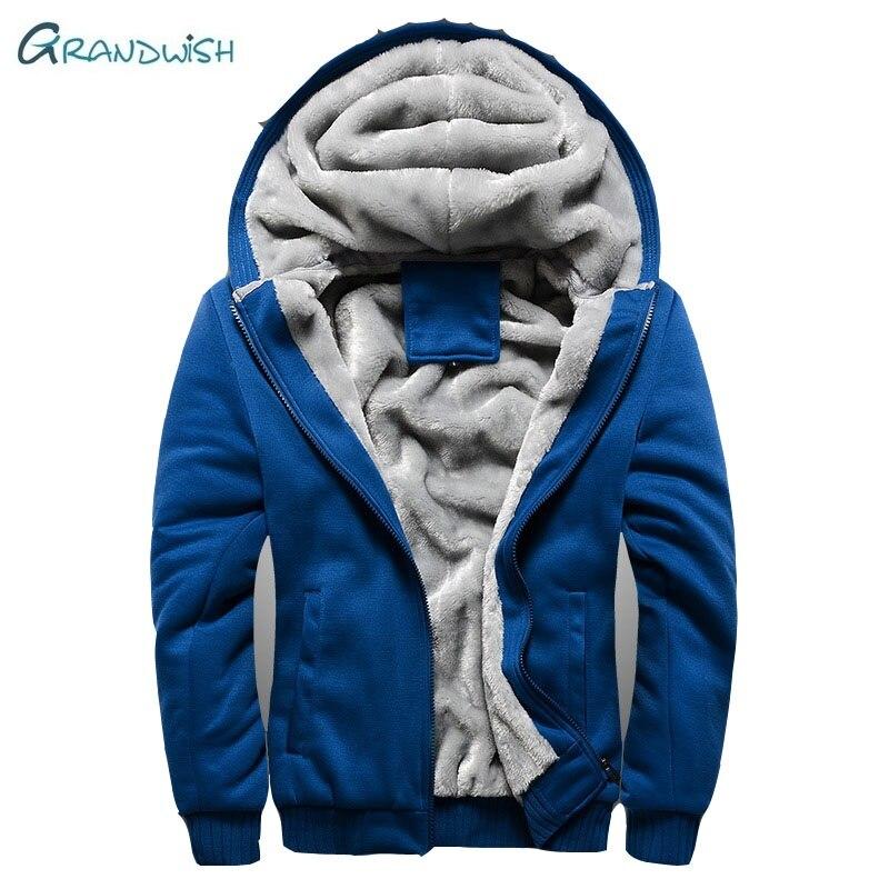 Grandwish Boys Winter Super Warm Hoodies Sweatshirts Thick Fleece Teenage Boys Camouflage Jackets Velvet Kids Coat 15-21,DA883