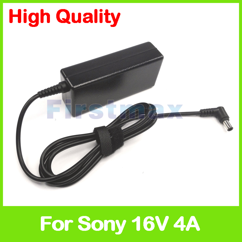 16V 4A AC power adapter for Sony laptop charger PCGA-AC5E VG