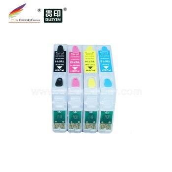 (RCE691-694) многоразовый чернильный струйный картридж для Epson T0691-T0694 69 Stylus NX115 NX215 NX415 NX510 NX515 CX5000 CX6000