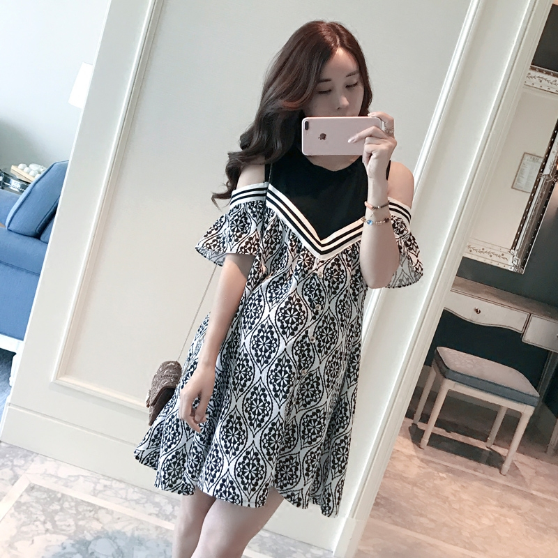 summer sexy maternity clothes tops pregnant dress clothing