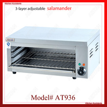 AT936 stainless steel electric hanging salamander for barbecue and kitchen equipment