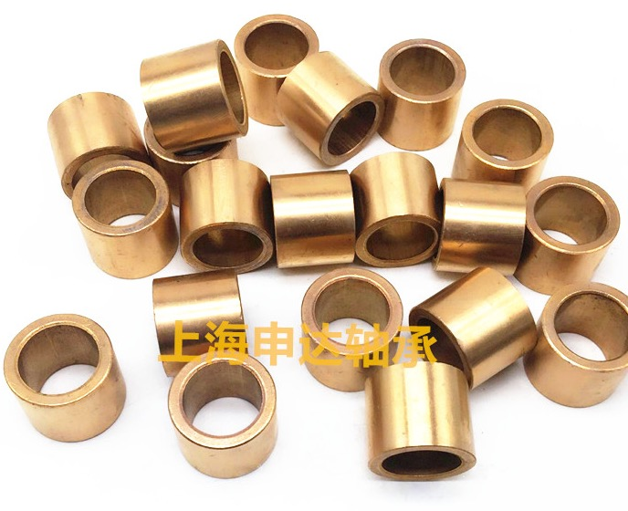 Inner D 4MM Outer D 8mm L 6MM Powder metallurgy self lubricating bearing copper sleeve in Shafts from Home Improvement