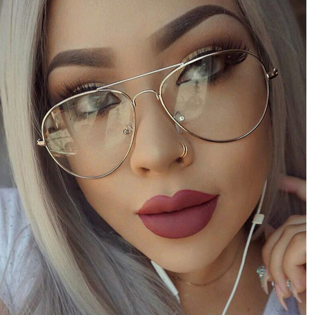 Clear Sunglasses Women  aliexpress com clear glasses myopia clear frame glasses