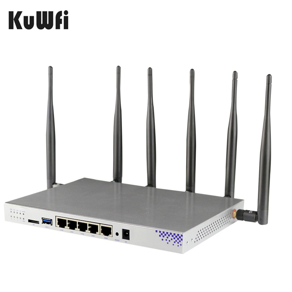 Image 4 - Openwrt 1200Mbps Wireless Router 3G/4G LTE Wireless Router Dual band Gigabit Wifi Router Wifi Repeater With SIM Card Slot-in Wireless Routers from Computer & Office