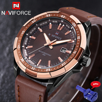 Naviforce Watches Men Quartz Casual Sport Watch Luxury Classic Date Waterproof Male Men S Wristwatch Man