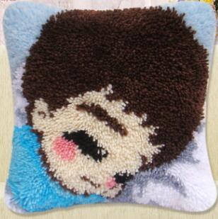 Boy Pillow Cushionecor Carpet Lboyatch Hook Rug Kits Pillowcase Home Pillow  Carpet Crochet Hooks Hook Rug