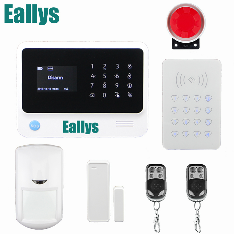 New Product WiFi Alarm System GPRS GSM Alarm Systems Security Autodial Home Security Alarm System IOS / Android Remote Control детская игрушка new wifi ios