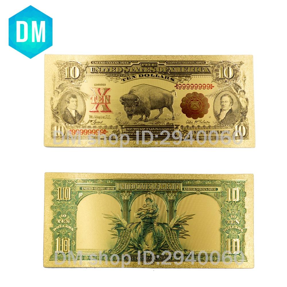 Birthday Souvenirs Bhumibol Adulyadej Memory Gold Banknote Thailand 1000 Baht Quality Currency Bill Note Original Size