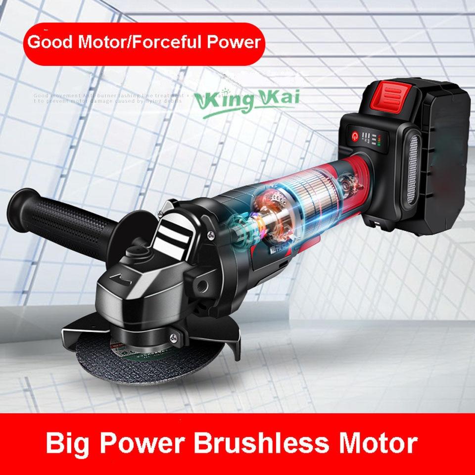 Brushless Cordless Battery Sand Polish Cut Angle Grinder-01 (18)