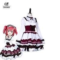 ROLECOS Anime Love Live Sunshine Cosplay Costumes Ruby Kurosawa Cosplay Costumes Lolita Dress Petticoat Cute Maid