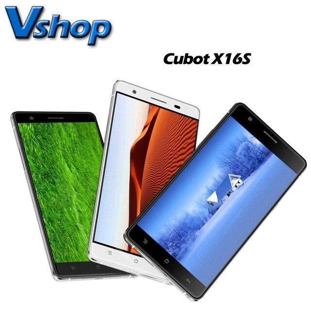 Nueva Cubot X16S 3 GB RAM 16 GB ROM Android 6.0 4G LTE Smartphone 5.0 pulgadas MT6735A Quad Core Soporta OTG Dual SIM A-GPS g-sensor