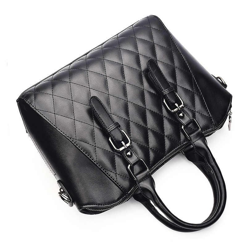2 шт. сумки на плечо новый модный набор сумок женские кожаные брендовые дизайнерские дамские сумочки и кошельки высокого качества дамские ручные сумки 2018
