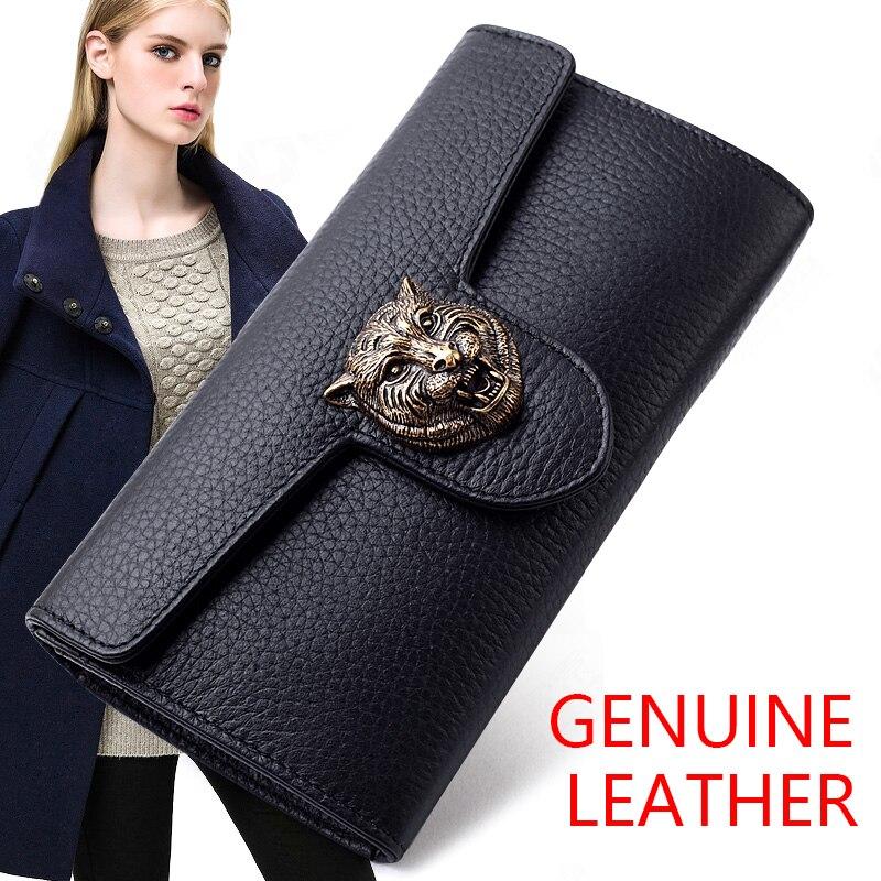 couro carteiras de design da Tipo de Estampa : Animal