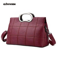 GLOWWORM Sheepskin Ladies HandBags Women Genuine Leather bags Totes Messenger Bags Hign Quality Designer Luxury Brand Bag
