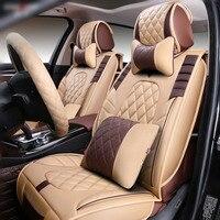 3D Стайлинг Автокресло Обложка для Audi A1 A3 A4 B8 B7 B6 B5 A6 C6 C7 A8 A8L Q3 q5 Q7 высокое волокна кожи, автомобиль площадку, подушки сиденья авто