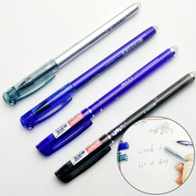 1 Pcs Erasable Gel Pen Refills Is Red Blue Ink Blue And Black A Magical Writing Neutral Pen Magic case of heat disappear цена 2017