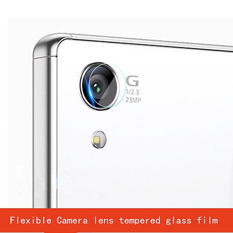 1Pc/2Pcs Dedicated camera protective film For Sony Xperia Z1/Z2/Z3/Z3+/Z5/Z5P Flexible Camera lens tempered glass film