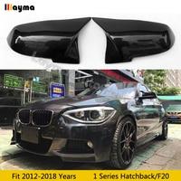 F20 Carbon Fiber Mirror cover For BMW 1 Series Hatchback 116i 118i 120i 125i M135i M140i 2012 2018 year Car rear mirror cap