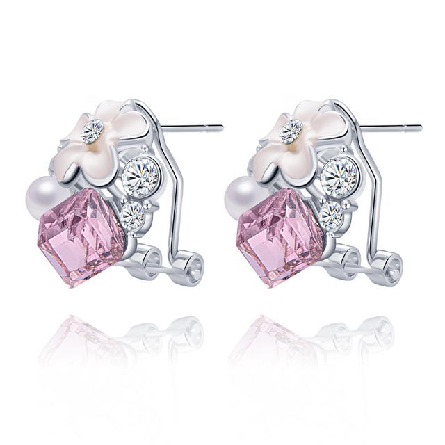 Bonlavie Brincos Crystal Earrings For Women Costume Jewelry Special Offer Clic Stud Earring Online Ping India