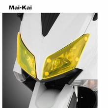 MAIKAI For YAMAHA T-MAX530 TMAX530 2015-2016 Motorcycle Headlight Screen Protective Cover