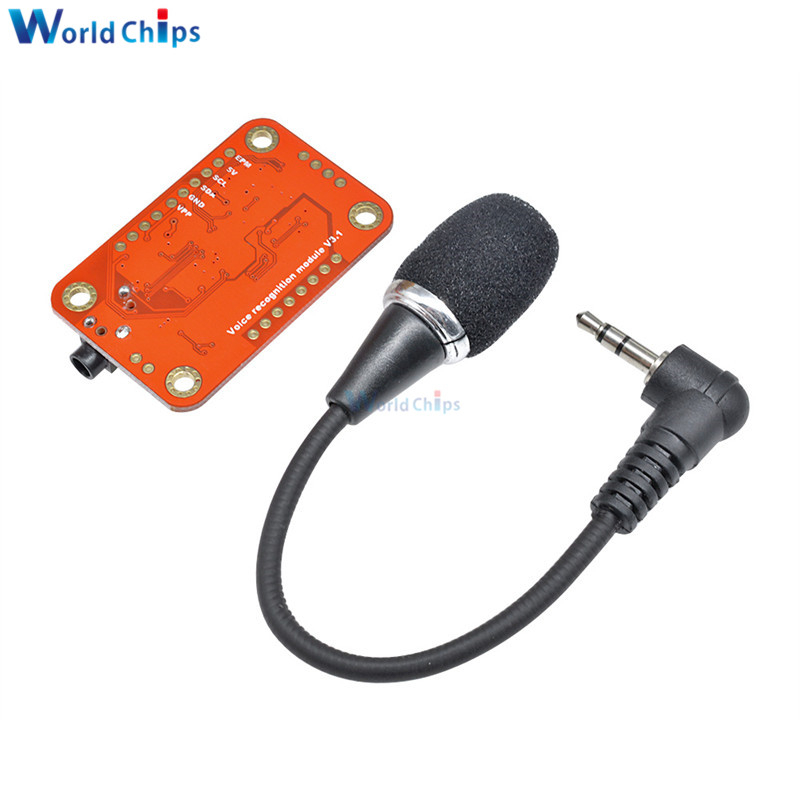 Image 2 - Speed Recognition Voice Recognition Module V3 Compatible with for Arduino Support 80 Kinds of Voice DC 4.4  5.5 V High Accuracy-in Integrated Circuits from Electronic Components & Supplies