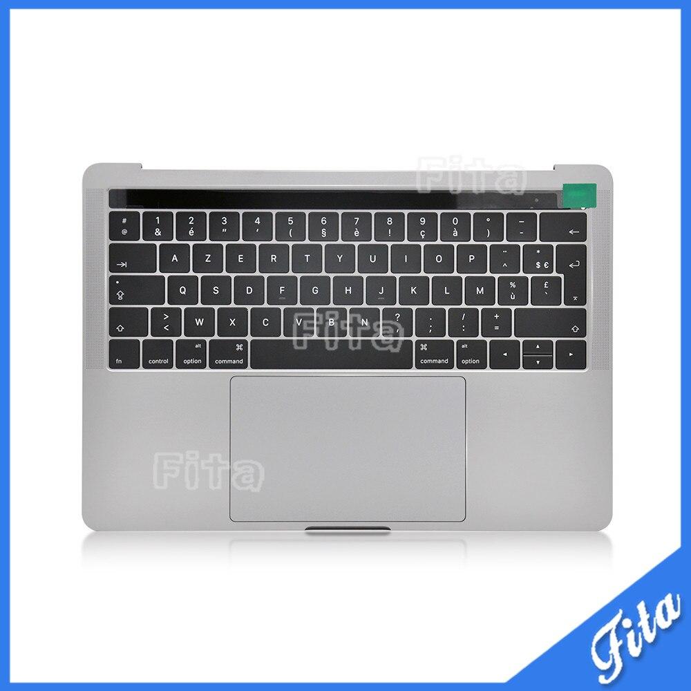 NOUVEAU 661-05334 Top Case avec Batterie et Touchpad pour Macbook Pro 13 2016 2017 A1706 FR Disposition