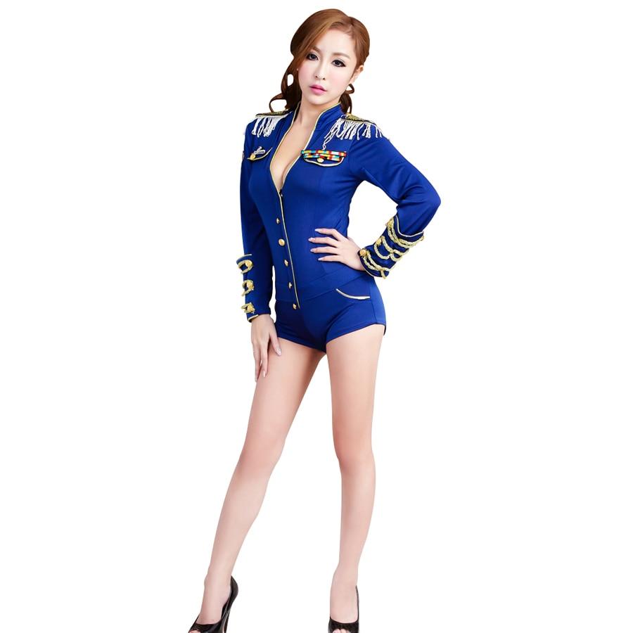 Carnavalskleding delfts blauw jurk